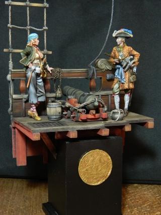 pirates sur pont de navire (peinture du décor fini) - Page 6 Dscn2511