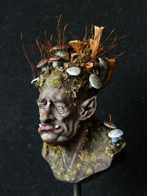 """buste troll champignons """" FLAP de chez figone""""  lamouline69 Dscn2719"""