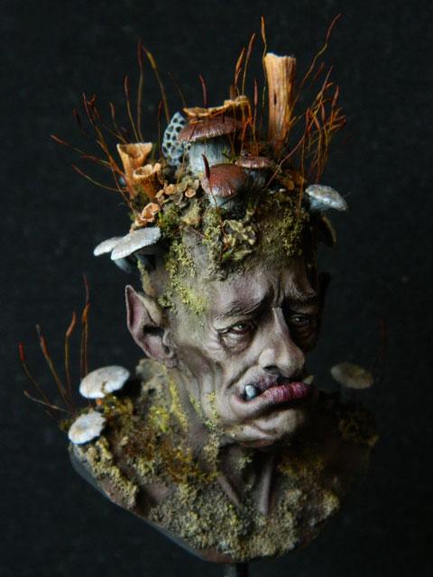 """buste troll champignons """" FLAP de chez figone""""  lamouline69 Dscn2720"""