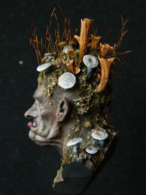 """buste troll champignons """" FLAP de chez figone""""  lamouline69 Dscn2723"""