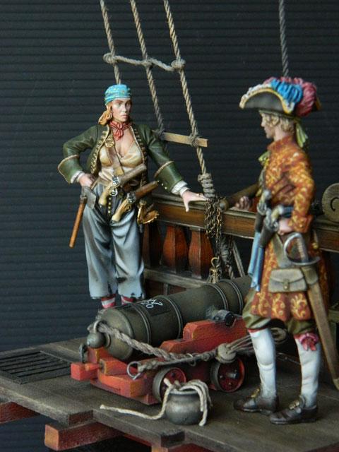pirates sur pont de navire (peinture du décor fini) - Page 6 Dscn2813