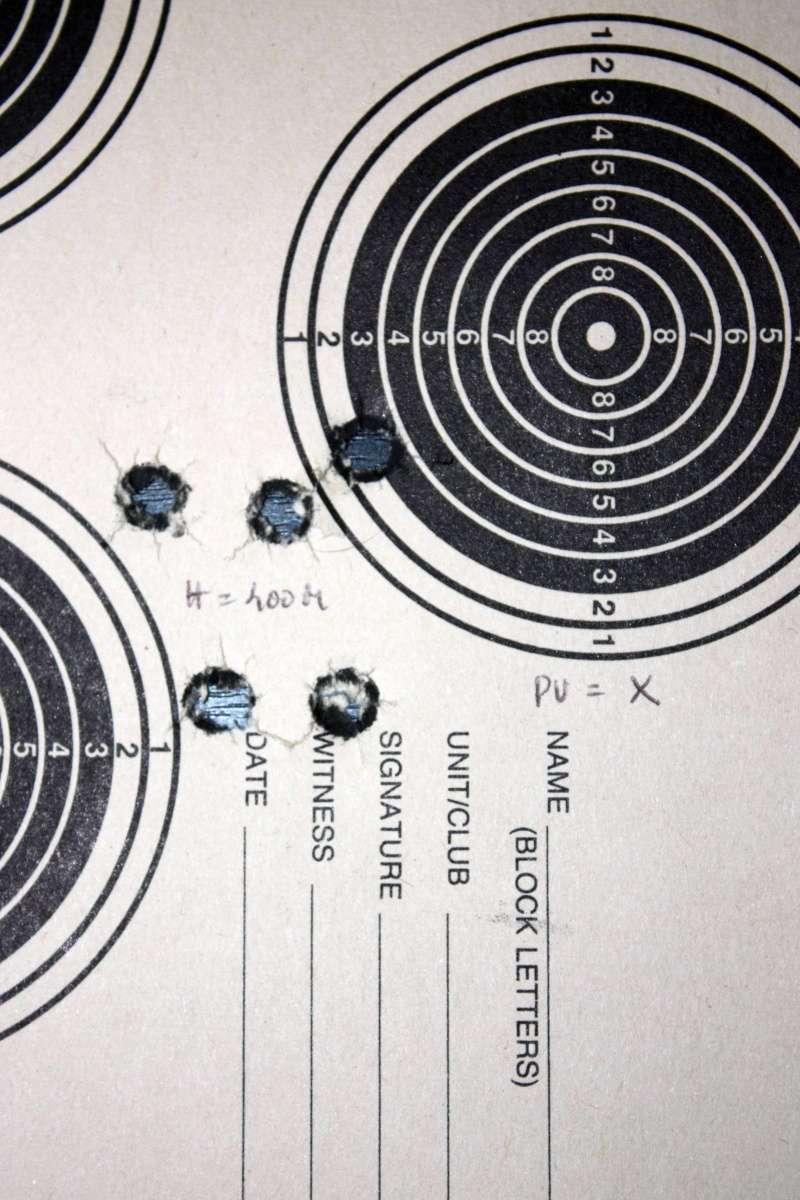 TIR REDUIT - Essai: Cartouches de tir reduit pour armes francaises en 8X50R et pour Trapdoor en .45 USG  1907-111