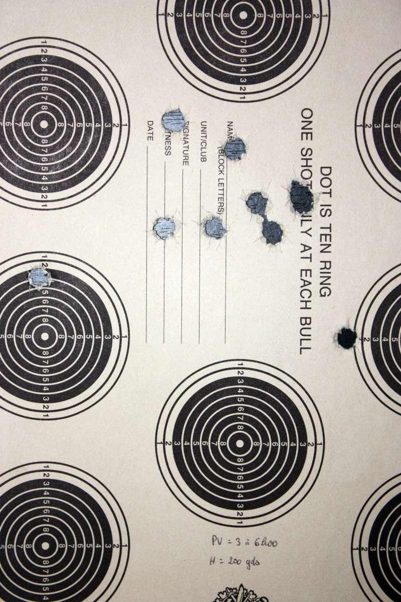 TIR REDUIT - Essai: Cartouches de tir reduit pour armes francaises en 8X50R et pour Trapdoor en .45 USG  Td88-110