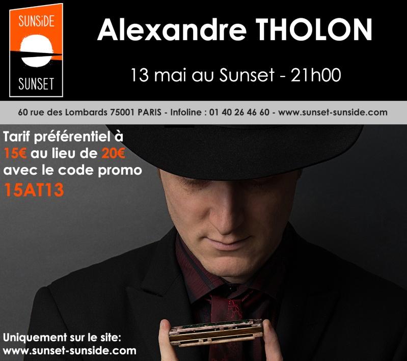 Concert Thollonesque au sunset : code promo! (économisez 5€) Codepr10