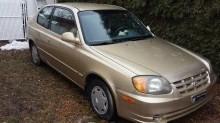 VENDU - Accent 2004 - 76 000 km - $1900 neg. 1112