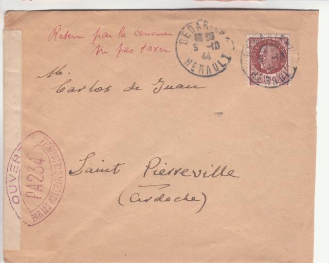 La commission de Montpellier encore en action en octobre 1944 !! _1004910