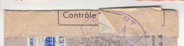 Lettre recommandée de Suisse du 18.10.1939 pour Paris - Retour à l'envoyeur _1200110