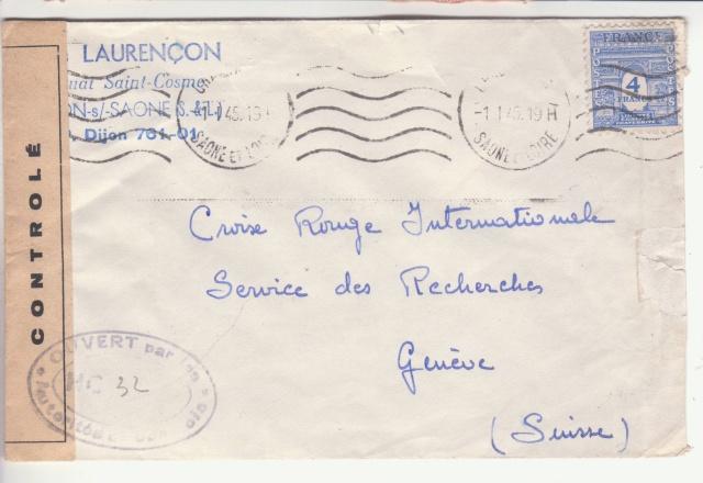 La commission de contrôle de Macon- HC encore en action le 1er janvier 1945. _2002010
