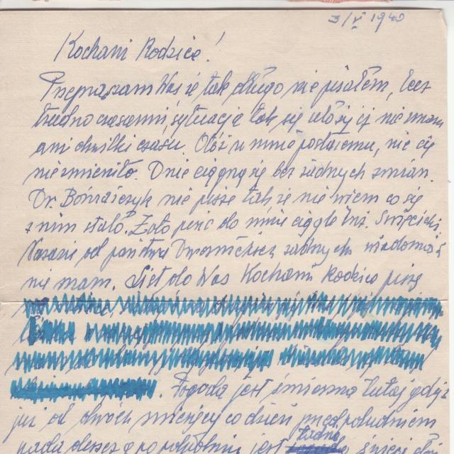 """Cachet linéaire """"Censuré"""" sur plis du Bataillon de l'air 145 vers la Roumanie en mai 1940 _6001810"""