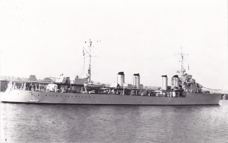 Les contre-torpilleurs français Bison_12
