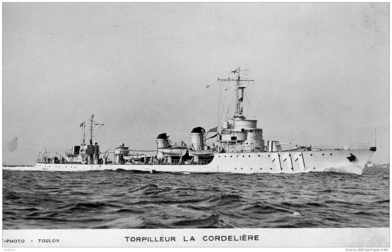 Les torpilleurs français Cordel13
