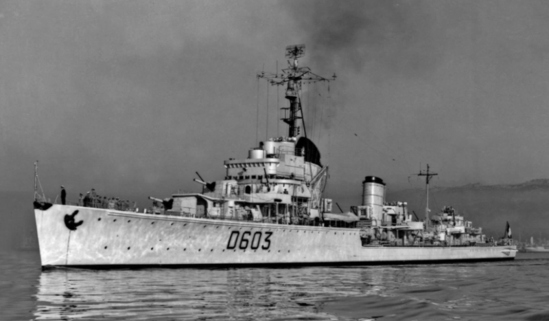 Destroyers allemands Kleber10