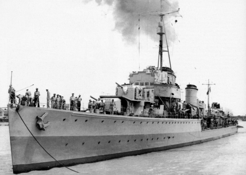 Destroyers allemands Kleber11