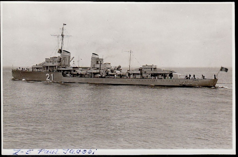 Destroyers allemands Z5_pau11