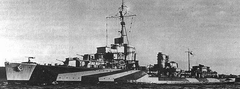Destroyers allemands Z6_the12