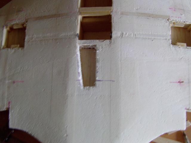 Construction de 2 Horten HO 229 avec des chutes de polystyrène Horten33