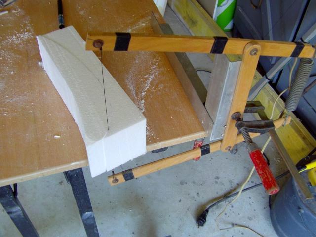 Construction de 2 Horten HO 229 avec des chutes de polystyrène Horten34