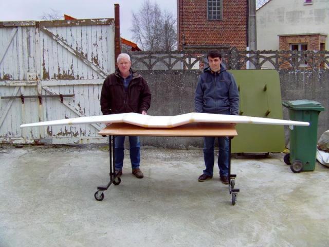 Construction du Junker 87  Stuka type B pour le Musée Imag0038