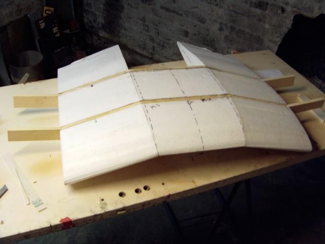 Construction du Junker 87  Stuka type B pour le Musée Imag0078