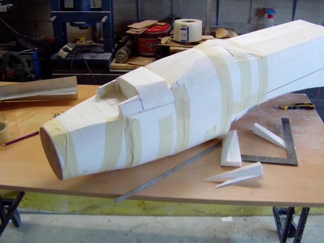 Construction du Junker 87  Stuka type B pour le Musée Imag0079