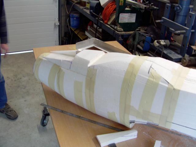Construction du Junker 87  Stuka type B pour le Musée Imag0083