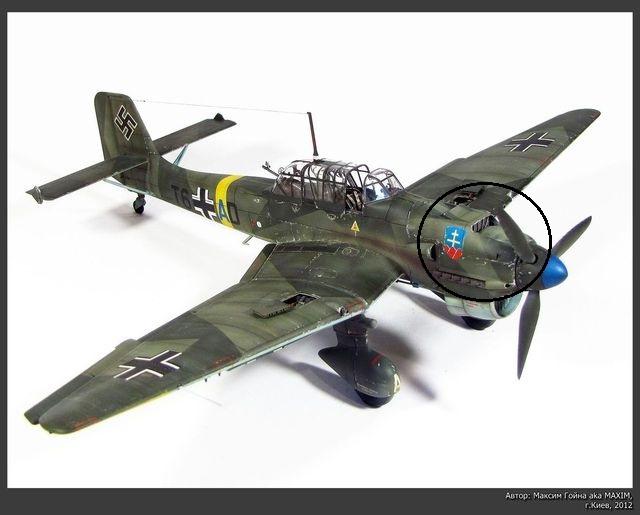 Construction du Junker 87  Stuka type B pour le Musée Ju87r410