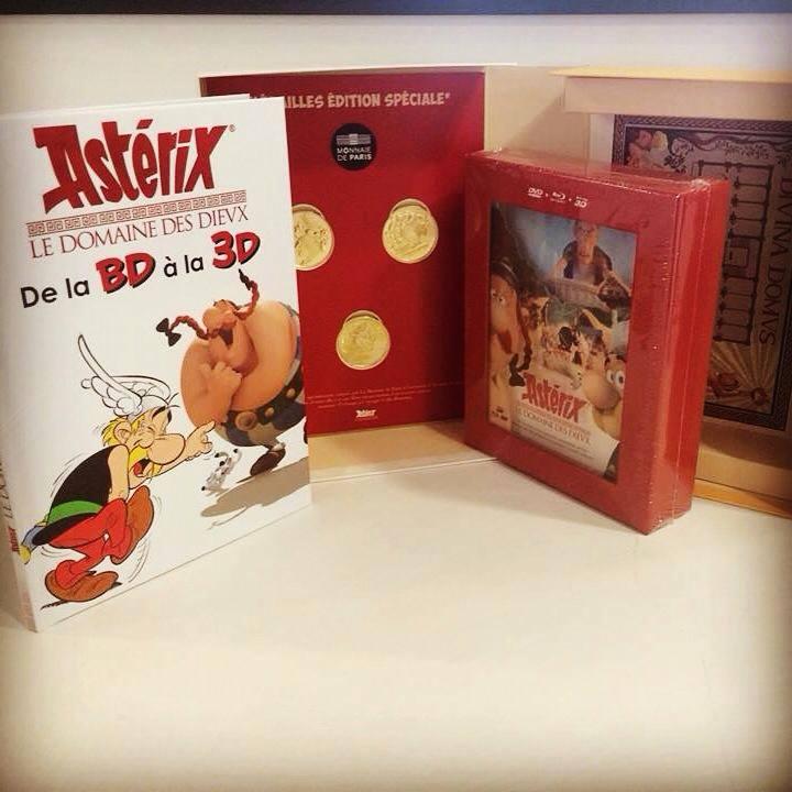 Astérix et le Domaine des Dieux / Astérix DDD : DVD & Blu-ray : 31 Mars 2015 11075210
