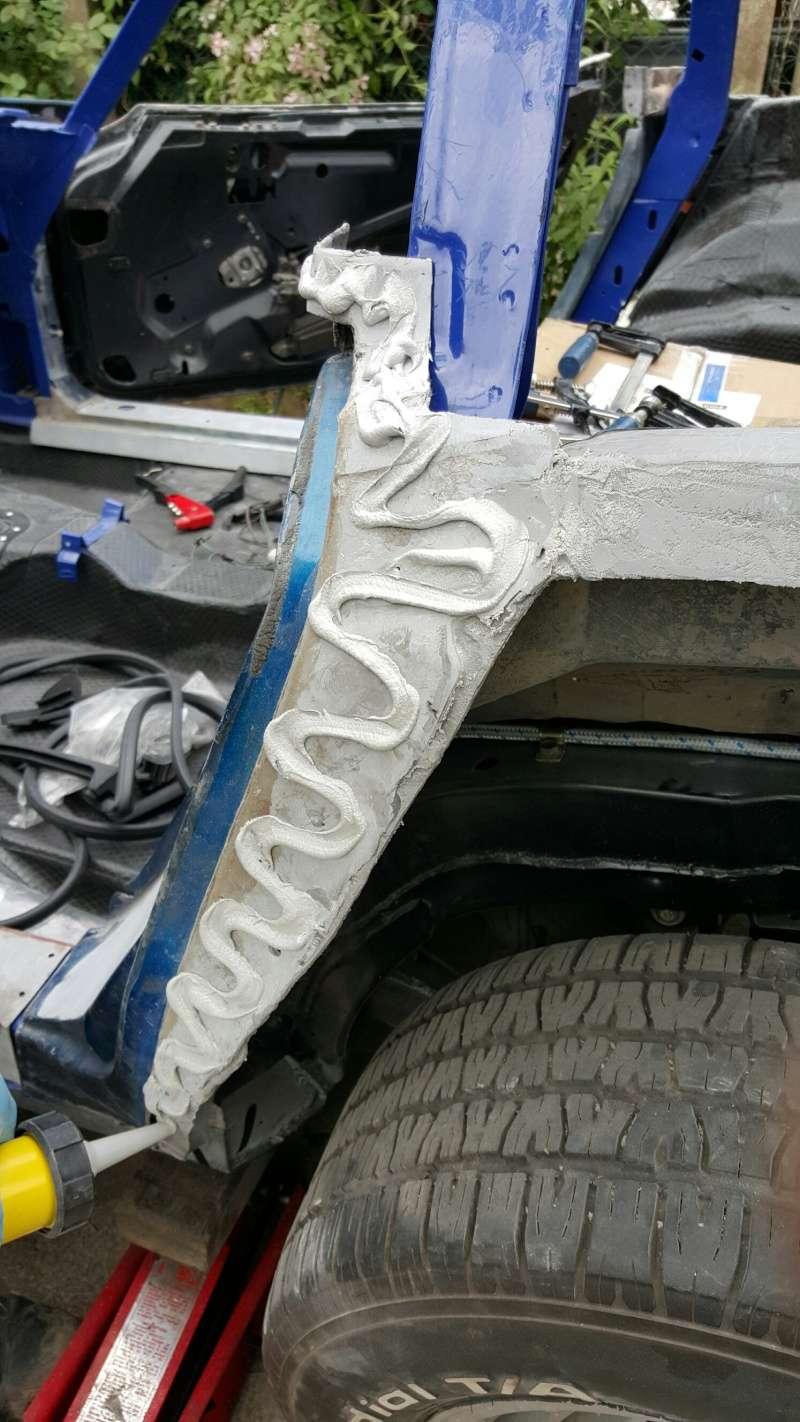 restauration complète Corvette C3 stingray 1977 entres amis - Page 2 20150517
