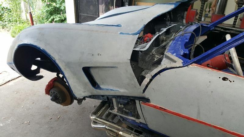 restauration complète Corvette C3 stingray 1977 entres amis - Page 3 20150525