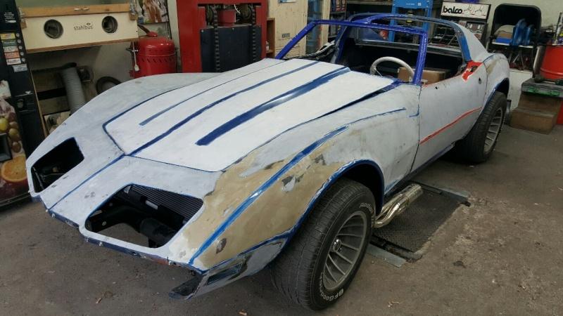 restauration complète Corvette C3 stingray 1977 entres amis - Page 3 20150529