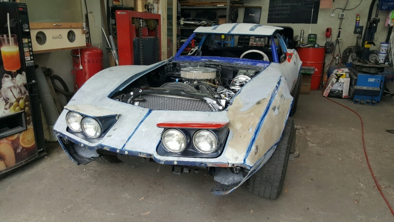 restauration complète Corvette C3 stingray 1977 entres amis - Page 3 20150530