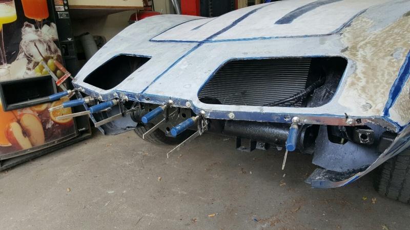 restauration complète Corvette C3 stingray 1977 entres amis - Page 5 20150539