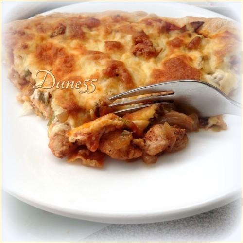 Pizza poulet salsa 24149510
