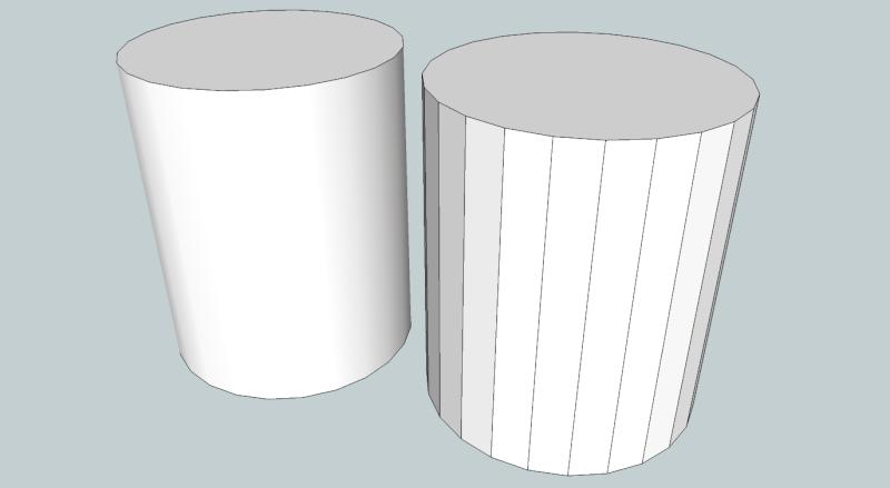Problème pour dessiner un vérin hydraulique sur Sketchup Su13