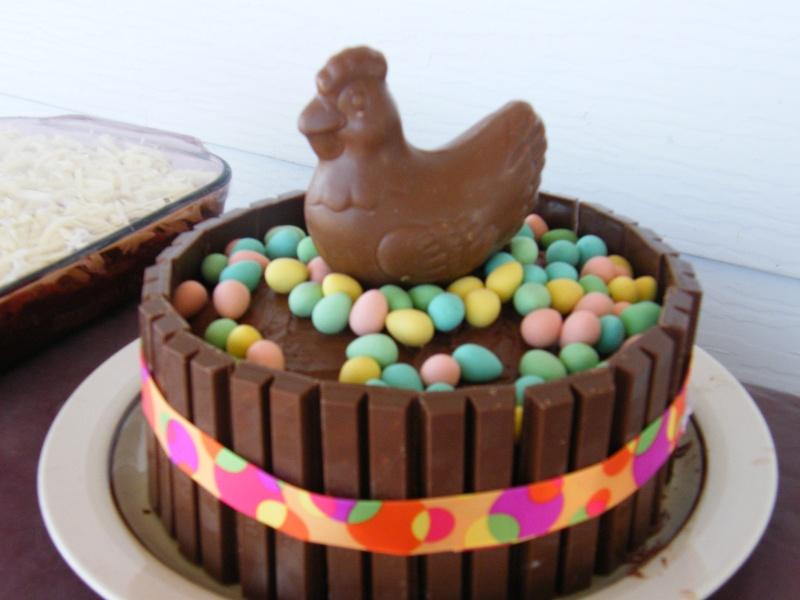 Gâteau de Pâques Dscf7011
