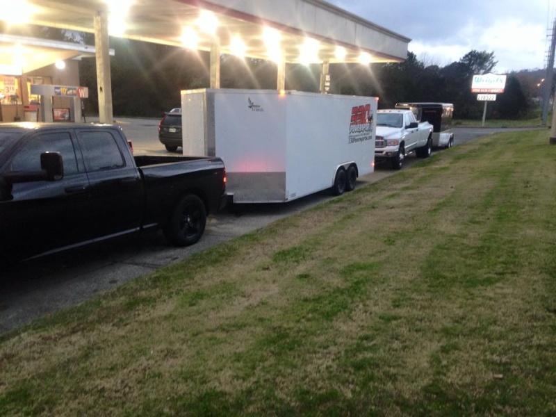 2013 8.5x20ft V-nose enclosed trailer Traile10