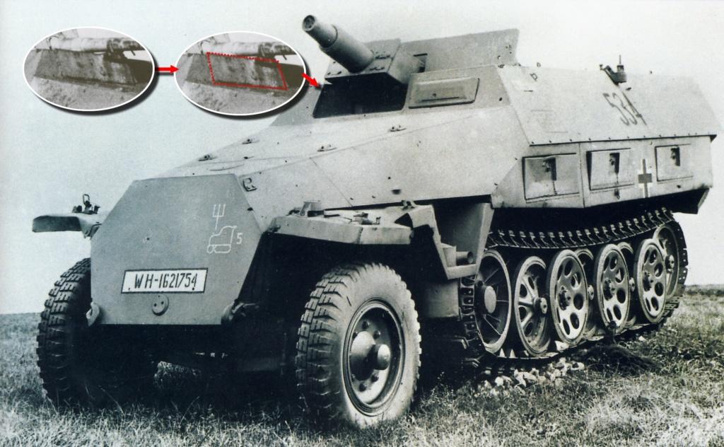 "Sd.Kfz. 251/22 Ausf.D ""Pakwagen Early"" (11èmePz.Div.) AFV Club 1/35 251_0030"