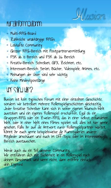 Illusion/ Rollenspiel Plattform/ Verschiedene FSK Bereiche Illusi13