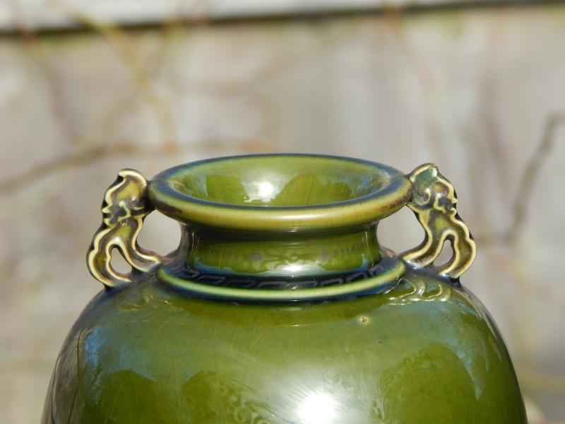 Japanese vase, kanji seals for IZUMO WAKAYAMA Nice_g11