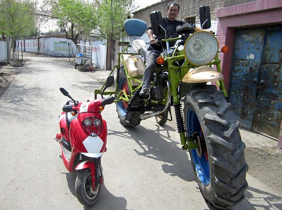 PHOTO - Le plus gros VN du monde Moto-g10
