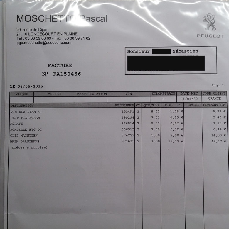 [Elgair]  205 GTI 1L9 - 1900 - NOIR - 1987 - Page 2 20150510