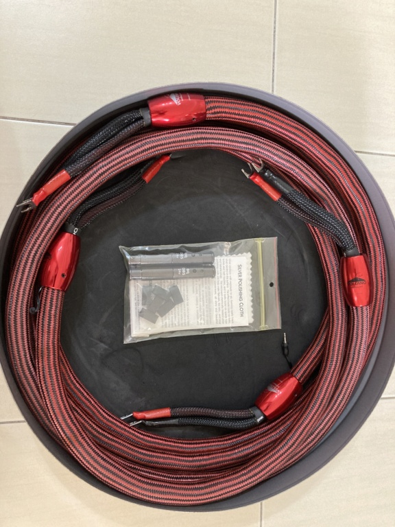 Audioquest volcano 24dbs speaker cable Image12