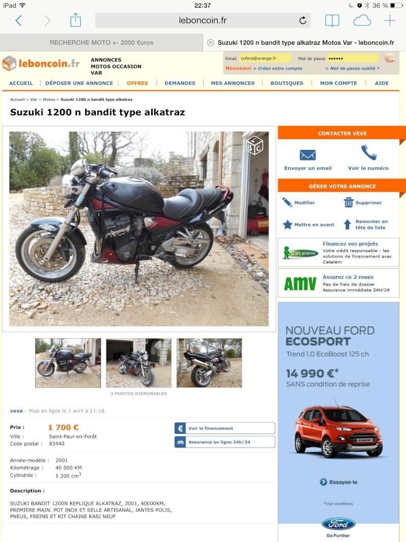 RECHERCHE MOTO +- 2000 €uros Image18