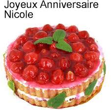 Joyeux Anniversaire Nicole Mamita