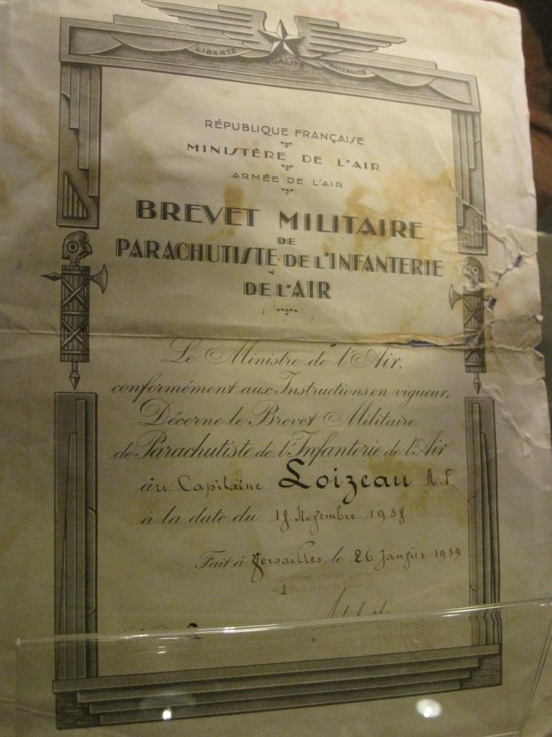 Brevet n°2 du Cne Loizeau (02 novembre 1938) 1938_n10