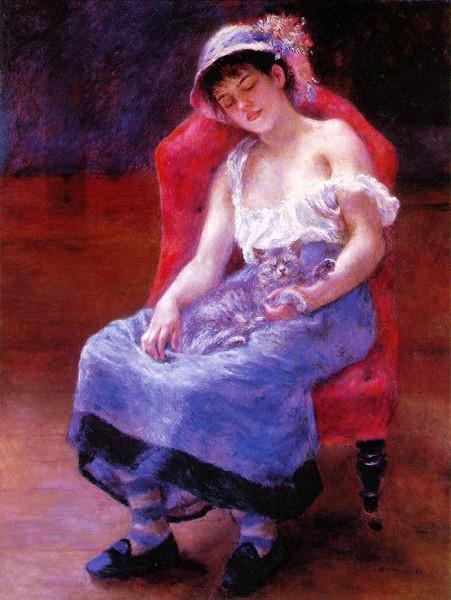 Pierre-Auguste Renoir Fillec10