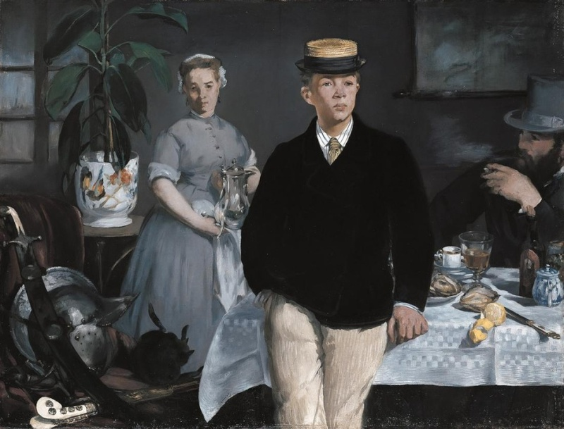 Edouard Manet Lunche10