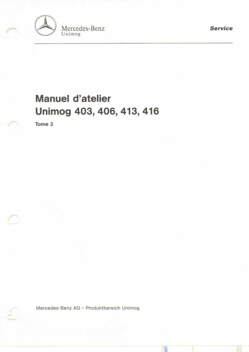 Quantité et type fluide 416 Manuel12