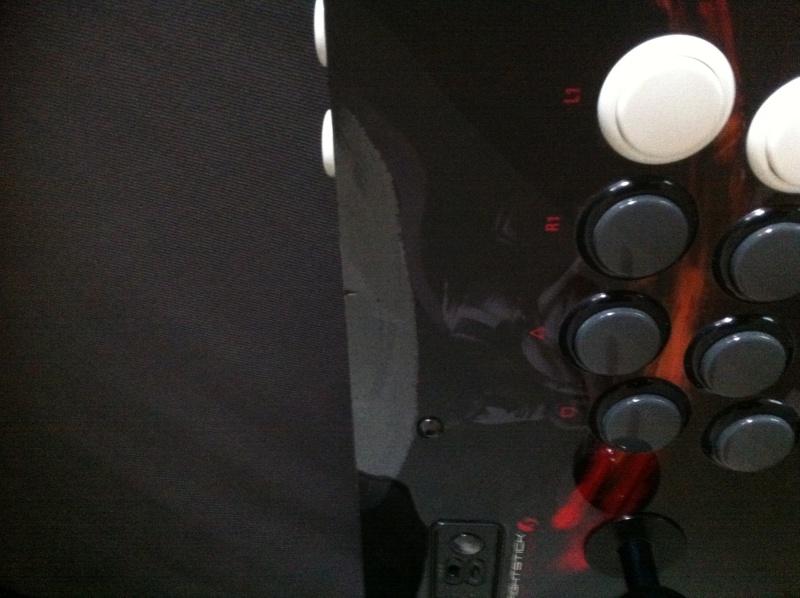 Stick Arcade PS3 - plexi décollé Img_0311