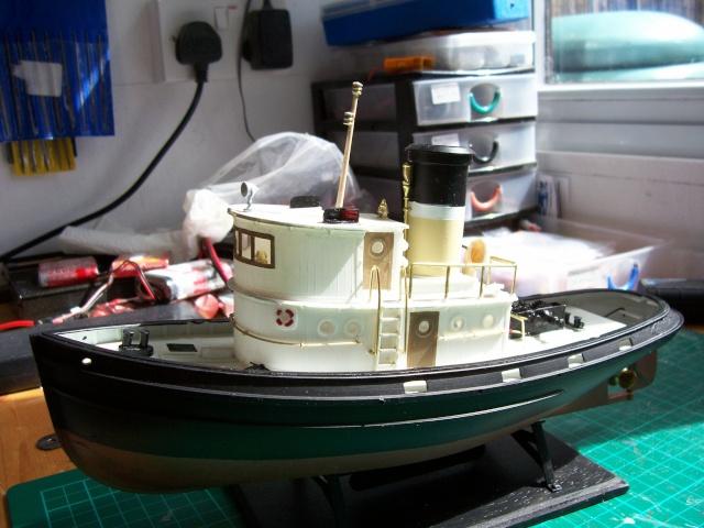 Lindberg US Coastguard Tug 100_0726
